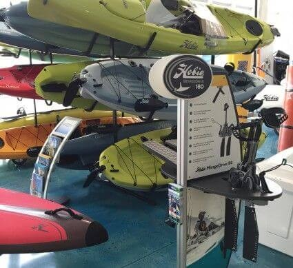 Hobie demo display